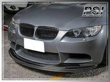 GS II Style Carbon Fiber Front Bumper Lip for 08-13 BMW E90 E92 E93 M3 3-Series