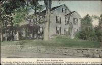 Reading MA Grouard House c1910 Postcard