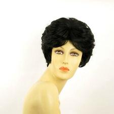 Parrucca donna corta nero : VAL 1B
