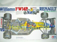 Tamiya 1/12  Williams FW14B RENAULT  F-1  GP Racing  Kit   Nigel Mansell  12029