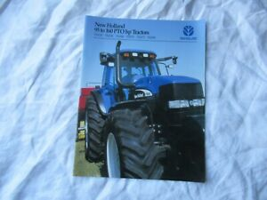 New Holland TM120 TM130 TM140 TM155 TM175 TM190 tractor brochure