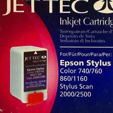 Jettec e15 BLACK 3333 JB Epson Stylus SCAN 2000/2500 color 740/760/860/1160 U.K.