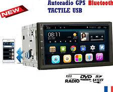 AUTORADIO GPS 2 DIN BLUETOOTH universel, peugeot 307 207 cc citroen c2 c3