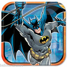 8 DC Comic Classic BATMAN Superhero Children's Party Large 23cm Paper Plates