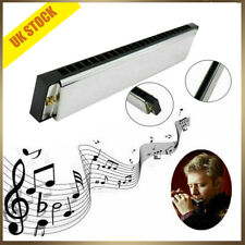 More details for professional 24 hole harmonica key c mouth metal organ for beginners uk top sell