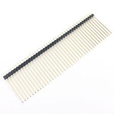 5 Pcs 2mm espaciado 40 posición recta macho PCB Pin Encabezamiento