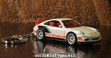 07 08 09 Porsche 911 GT3 Custom KeyChain FOB Porte Cles Llavero Schlusselhanger