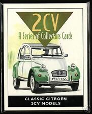 CITROEN 2CV  Original Collectors Card Set - 1952-1983 models Spot Charleston AZA