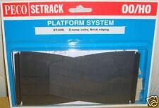 Peco 00 Setrack ST-296 Platform Ramps - Brick (00) Model Railway