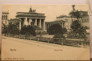 Germany Berlin Pariser Platz Postcard Old Vintage Card View Standard Souvenir PC