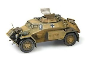 Artitec 387.105-Yw - 1/87/H0 Dt. Sdkfz. 221 4-Rad With Mg34 - Africa - New