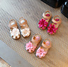 New Child Prewalker Shoes Toddlers Baby Girls Summer Kids Shoes Flower Sandals