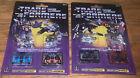 Transformers G1 Cassettes  Frenzy Laserbeak Ravage Rumble  WalMart Reissue