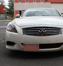 Bumper Tow Hook License Plate Mount Bracket For Infiniti FX Q G QX