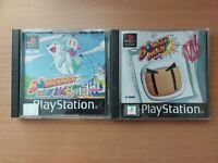 Bomberman & Fantasy Race - Sony PlayStation 1 PS1 - PAL - Tested - Free UK P&P
