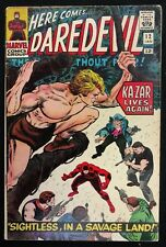 DAREDEVIL 1966 #12 VG/FN SOLID 1ST PLUNDERER EARLY KA-ZAR APPEARANCE 3PART STORY
