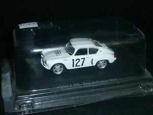 UH 1/43 : ALPINE A 106 - MICHY - RALLYE TOUR AUTO 1958