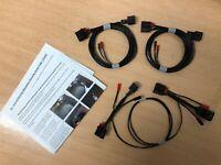 Mk7 Golf (Halogen) To Mk7.5 Dynamic Tail Light Retrofit Wiring Loom Adapters Kit