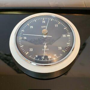 Sundo Wetterwarte - Vintage Wetterstation - Holz - Barometer - Thermometer