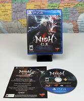 SHIPS SAME DAY Nioh (Sony PlayStation 4, 2017) PS4 Video Game Team Ninja Tecmo