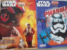 STAR WARS RESISTANCE X-WING SQUADRON + CAPTAIN PHASMA COLORING & ACTIVITY BOOKS