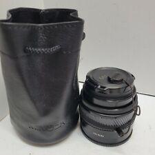Minolta Maxxum AF 50mm f1.4 Prime Lens  w Filter for Sony A-Mount.