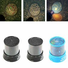 Children Night Light Star Sky LED Projector Master Fantasy Kids Nursery Room US