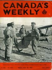 CANADA'S WEEKLY May 26 1944 WW2 Canadian Troops Roll of Honour Mackenzie King