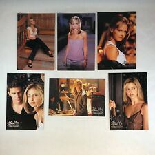 BUFFY THE VAMPIRE SLAYER Official 4X6 PHOTOCARDS Chase Card Set (B1-B6) INKWORKS
