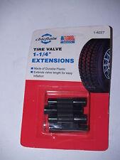 "Tire Valve Plastic Extensions 1 1/4"" - Set of 4-New"