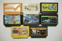 Famicom 8 FC game lots US Seller