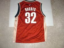 Cleveland Cavaliers LARRY HUGHES Reebok Basketball Jersey youth Medium