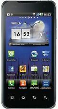 Lg p990 Optimus Speed dual-core smartphone negro usado bien comerciantes