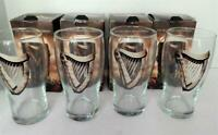 Set of 4 New GUINNESS 16 Ounce Halloween Beer Glasses in Original Boxes