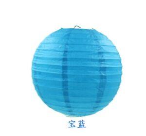 Colorful Round Paper Chinese Lanterns Balloon for Wedding Party Hanging Lanterns