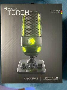 ROCCAT Torch Studio-Grade USB Microphone, Black, ROC-14-910