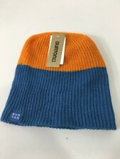 9159e5b7b10 Burton Men s All Day Long Beanie Glacier Blue orange One Size