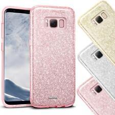 Handy Glitzer Hülle für Samsung Galaxy Slim TPU Cover Case Silikon Schutz Tasche