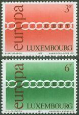 Luxembourg 1971 Mi 824-25 ** Europa Cept