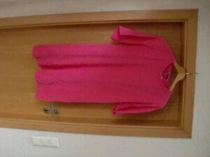 Schickes sportliches Kleid Sweatshirtkleid Zara pink Gr. L Top