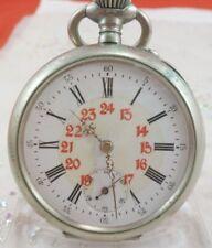 antike Taschenuhr 928169 in Stahl