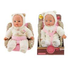 Lovely Baby Babypuppe in Kindersitz 33 cm