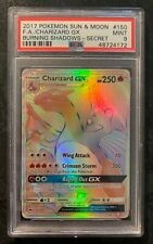 Charizard GX 150/147 PSA 9 - Hyper Rainbow Rare - Burning Shadows Pokemon Card