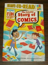 History of Fun Stuff Colorful Story of Comics (Hardback)< 9781481471459