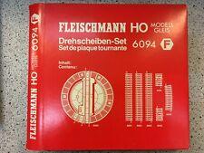 Drehscheiben Set Fleischmann 6094 H0 1:87 NEU OVP HF1 µ *