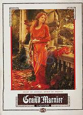 Grand Marnier Liquor ADVERT - 2009 Cognac Advertisement