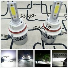 2x 9004 HB1 6000K Super White 8000LM CREE LED Headlight Bulbs Kit High Low Beam