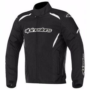Alpinestars Gunner Waterproof WP Jacket, Black Textile  All Sizes  Fast Shipping