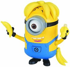 NEW DESPICABLE ME 3 Banana Crazy Carl Minion DELUXE Quick Draw ACTION FIGURE