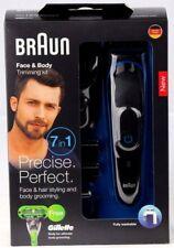 Braun Men Multi Grooming Kit 7-in-1 Beard Head Body Nose Nasal Face Hair Trimmer
